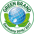 Logo Green Brand Germany 2016/ 2017