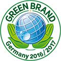 Logo Green Brand Germany 2016/ 2017