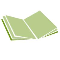 Broschüren (geheftet) mit Umschlag