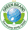 Logo Green Brand Germany 2019/ 2020
