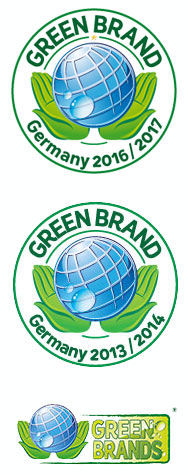 Green Brand Germany 2013/14 und 2016/17